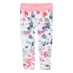 Toddler Girl Nike Dri-FIT Watercolor Print Leggings