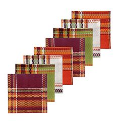Celebrate Fall Together Plaid Dishcloth 8-pack