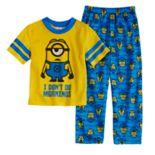 Boys 4-10 Minions 2-Piece Pajama Set