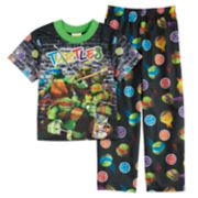 Boys 4-10 Teenage Mutant Ninja Turtles 2-Piece Pajama Set