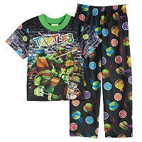 Boys 4-10 Teenage Mutant Ninja Turtles 2-Piece Pajama Set