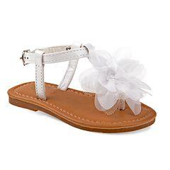 Petalia Floral Toddler Girls' Sandals