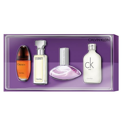 Calvin Klein Women's Perfume 4 pc. Gift Set ($93 Value)