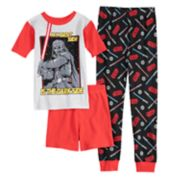 Boys 4-10 Star Wars Dark Side 3-Piece Pajama Set