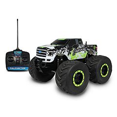NKOK Mean Machines 1:8 Extreme Terrain RTR Remote Control: 2015 Ford F-150 Vehicle
