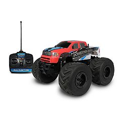 NKOK Mean Machines 1:8 Extreme Terrain RTR Remote Control: RAM 2500 Power Wagon Vehicle