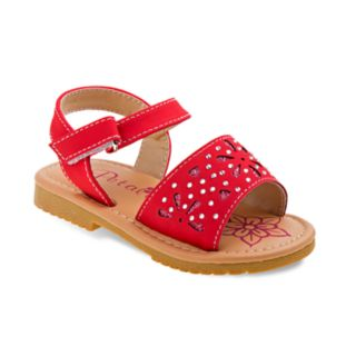 Petalia Jeweled Toddler Girls' Sandals