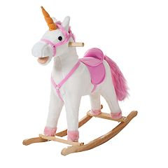 Happy Trails Bella the Rocking Unicorn Ride-On