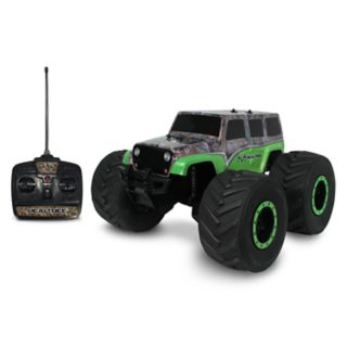 NKOK 1:8 RealTree Extreme Terrain RTR Jeep Wrangler Unlimited Remote Control Toy