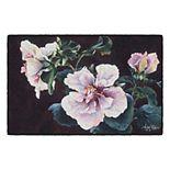 Brumlow Mills Hibiscus Showoff Floral Printed Rug