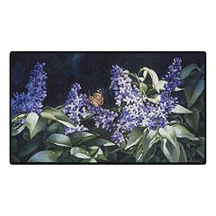 Brumlow Mills Sunshine & Lilacs Floral Printed Rug
