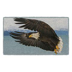 Brumlow Mills Eagle in Flight Printed Rug