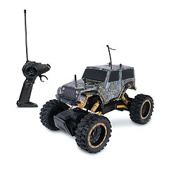 NKOK RealTree Jeep Wrangler Rock Crawler Remote Control Toy