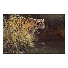 Brumlow Mills Something Stirred Tiger Printed Rug