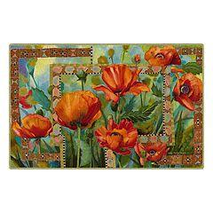 Brumlow Mills Garden Path Floral Printed Rug