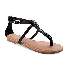 Petalia Jeweled Girls' Sandals
