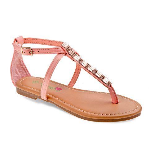 3b224ced4323 Petalia Jeweled Girls  Sandals