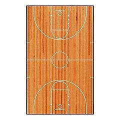 Brumlow Mills Basketball Court Printed Rug