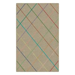 Brumlow Mills Bailey Lattice Printed Rug