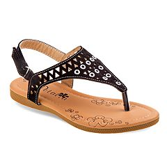 Petalia Cut Out Girls' Sandals