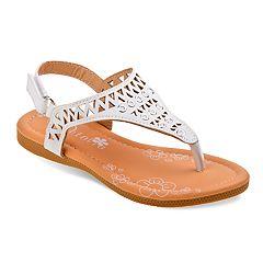 Petalia Cut Out Girls' Sandals