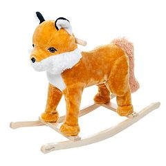 Happy Trails Rocking Felix the Fox Ride-On