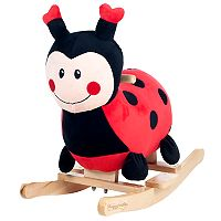 Happy Trails Rocking Lucy the Ladybug Ride-On