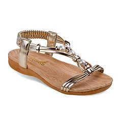Petalia Beaded Girls' Sandals