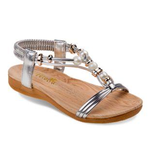 Petalia Beaded Girls' Sandals