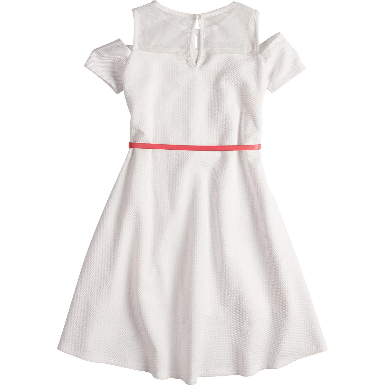 Girls Cold Shoulder Kids Dresses, Clothing | Kohl\'s