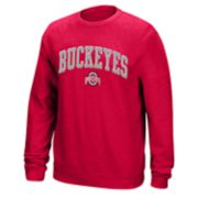 Men's Ohio State Buckeyes Sculler Crew Sweatshirt