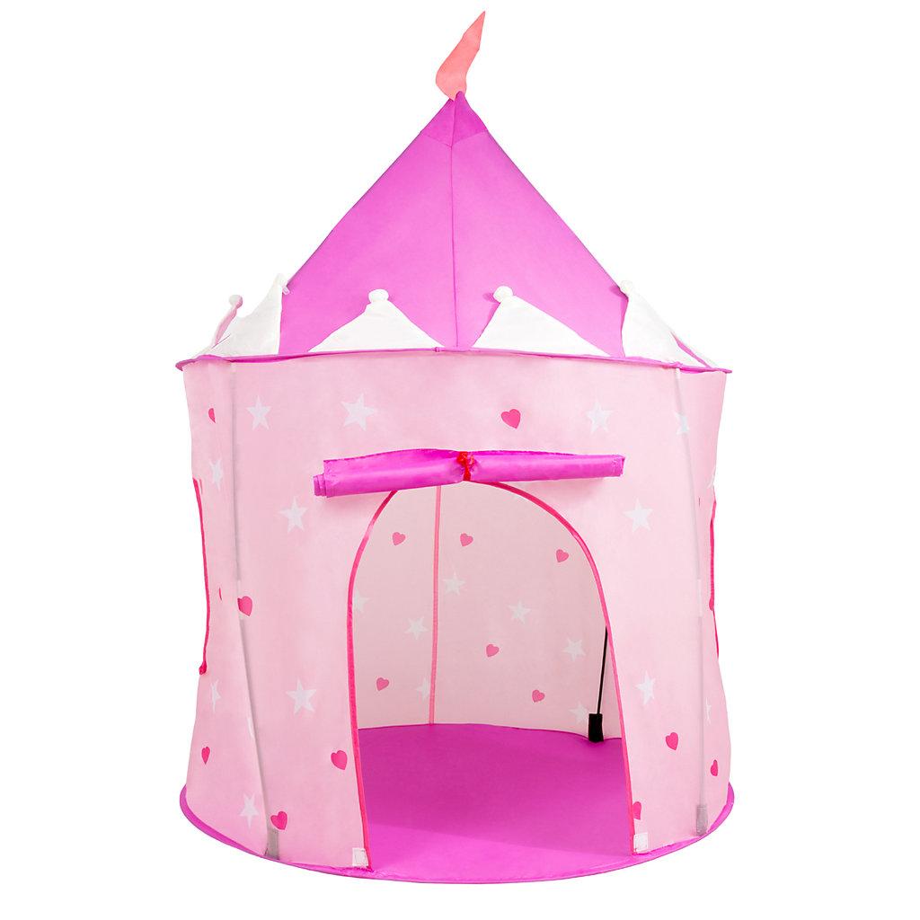 official photos 8e260 b552d Hey! Play! Indoor/Outdoor Princess Castle Pop- Up Play Tent Playhouse Hut
