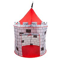 Hey! Play! Indoor/Outdoor Knight Castle Pop- Up Play Tent Playhouse Hut