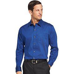 Men's Van Heusen Traveler Bedford Classic-Fit Stretch Non-Iron Button-Down Shirt