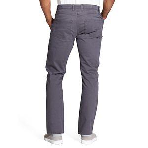 Men's Van Heusen Slim-Fit Stretch Twill Five-Pocket Chino Pants