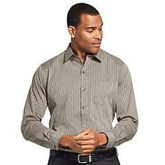 Men's Van Heusen Traveler Stretch Slim-Fit No-Iron Button-Down Shirt