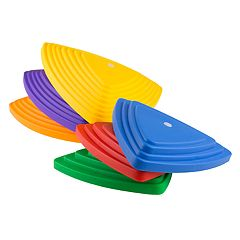 Hey! Play! 6-Piece Triangular Stepping Stones Set