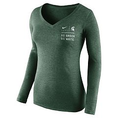 Women's Nike Michigan State Spartans Sport Tee