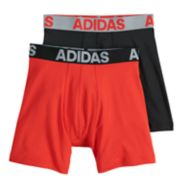 Boys 6-20 adidas 2-Pack Performance Boxer Brief