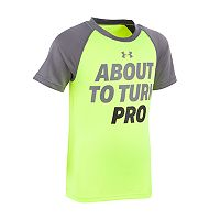 Toddler Boy Under Armour About to Turn Pro Tee