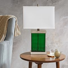 Madison Park Emerald Table Lamp