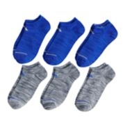 Boys 4-20 adidas 6-Pack Superlite No-Show Socks
