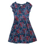 Girls' 7-16 Emily West Bow-Back Reversible Dress