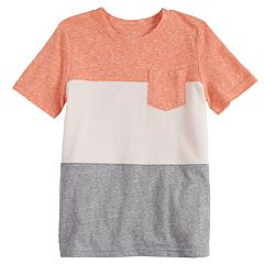 Boys 4-10 Jumping Beans® Colorblock Pocket Tee