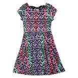Girls' 7-16 Emily West Twist-Back Reversible Dress