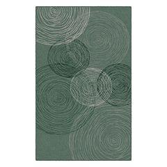 Brumlow Mills Pinwheels Contemporary Printed Rug