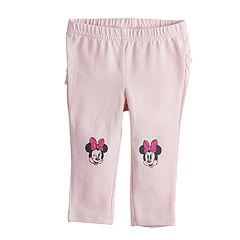 Disney's Minnie Mouse Baby Girl Ruffled-Back Leggings by Jumping Beans®