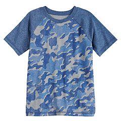 Boys 4-10 Jumping Beans® Camouflaged Raglan Tee