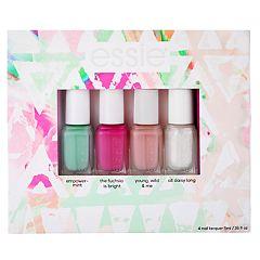 essie Summer 2018 Trend Mini Nail Polish Set