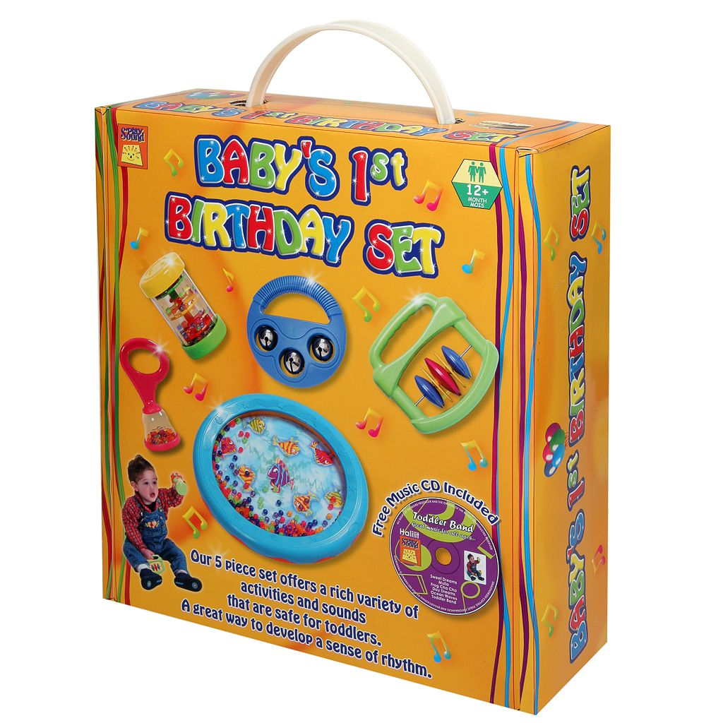 Edushape®Baby's 1st Birthday Musical Instrument Toy Set